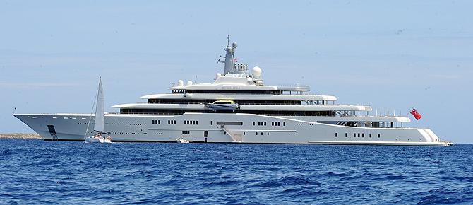 яхта Абрамовича Eclipse