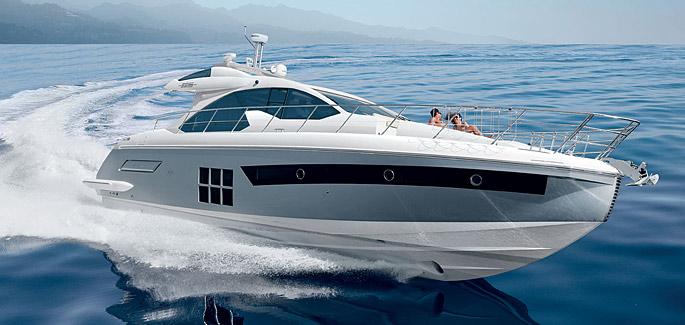 яхта Azimut 55S